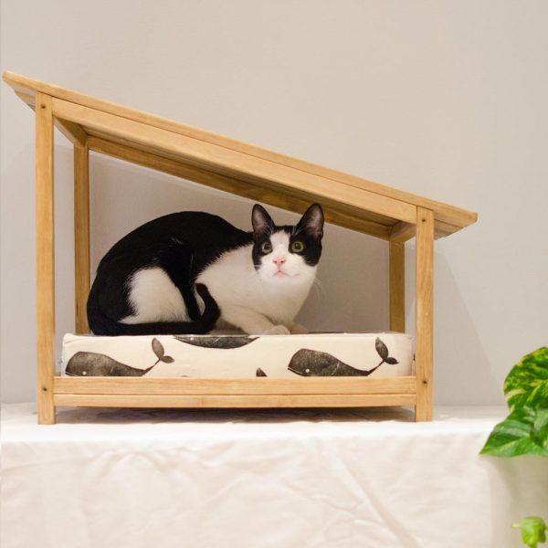 cama para gatos cojin