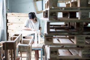 taller madera reciclada