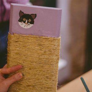 taller rascador gato feelwood